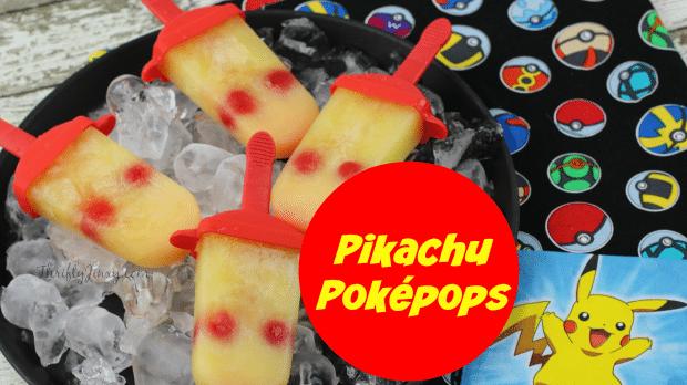 Pokemon Ice Pops Recipe - Pikachu Pokepops!