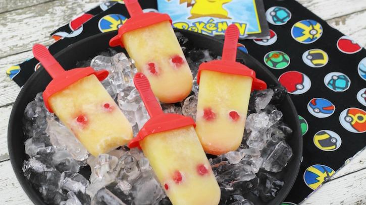 Pokemon Pikachu Ice Pops