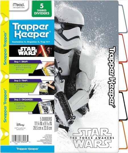 Trapper Keeper Force Awakens