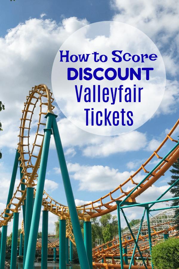 Discount Valleyfair Tickets