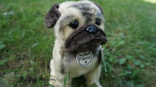 Hallmark My Best Friend Pug Dog Plush