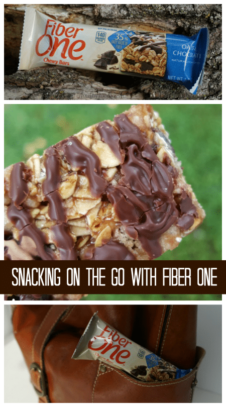 Snacking on the Go with Fiber One