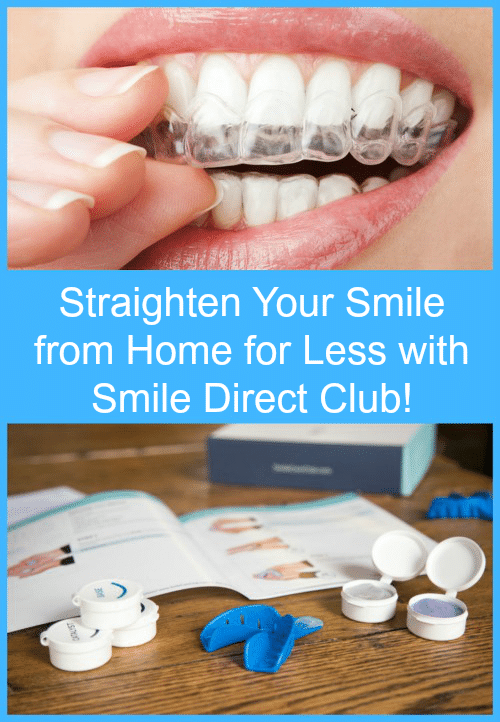 Straighten Your Smile from Home for Less with Smile Direct Club! #WhatMakesMeSmile