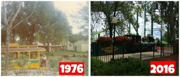 Valley Fair Train Trolley 40 Years