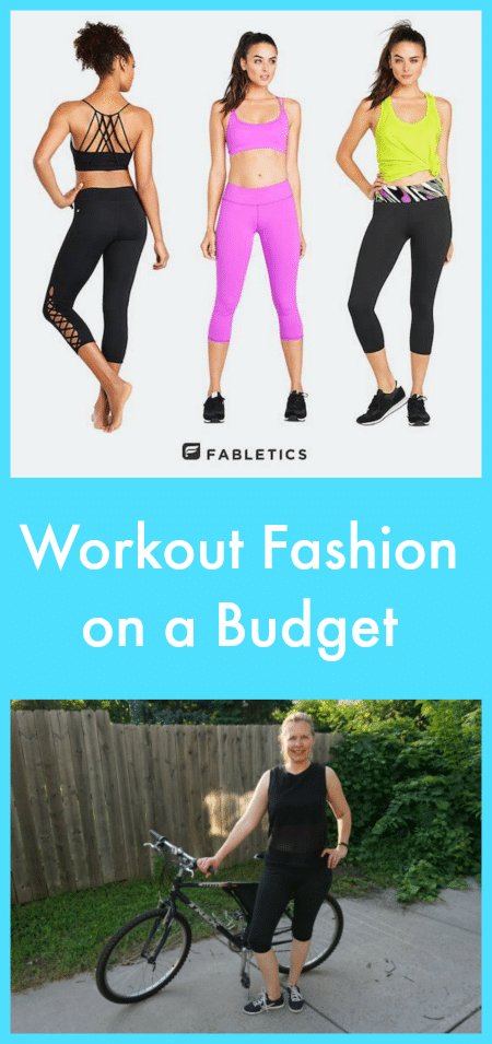 Workout fashion on a budget