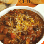 Pumpkin Chili in SLow Cooker