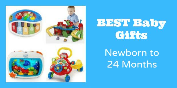 Best Baby Toy Gifts - Newborn to 24 Months