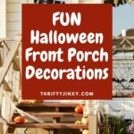 FUN Halloween Front Porch Decorations