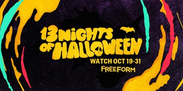Freeform 13 Nights of Halloween Schedule 2016 - Formerly ABC Family