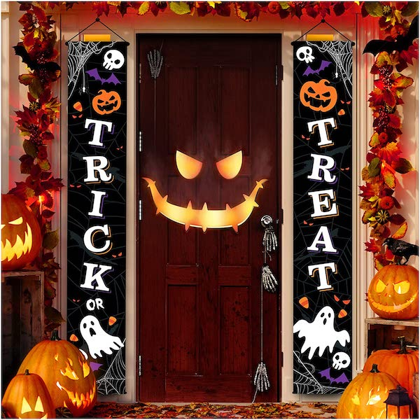 Halloween Front Door Decoration