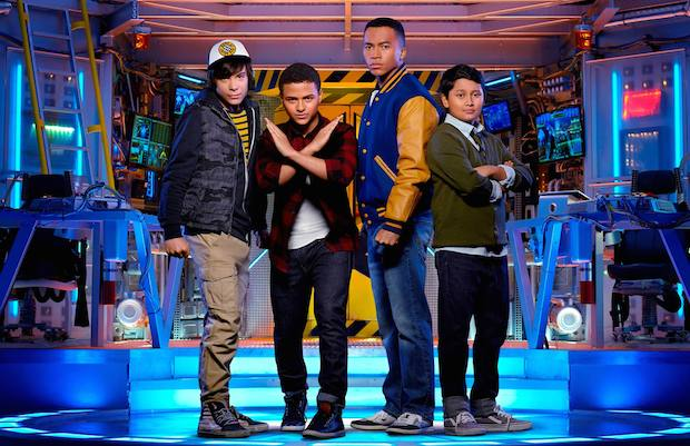Don't Miss Disney Channel's MECH-X4 Disney Channel: Cast and Producers Interview