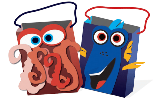 Finding Dory Goodie Bags Printable