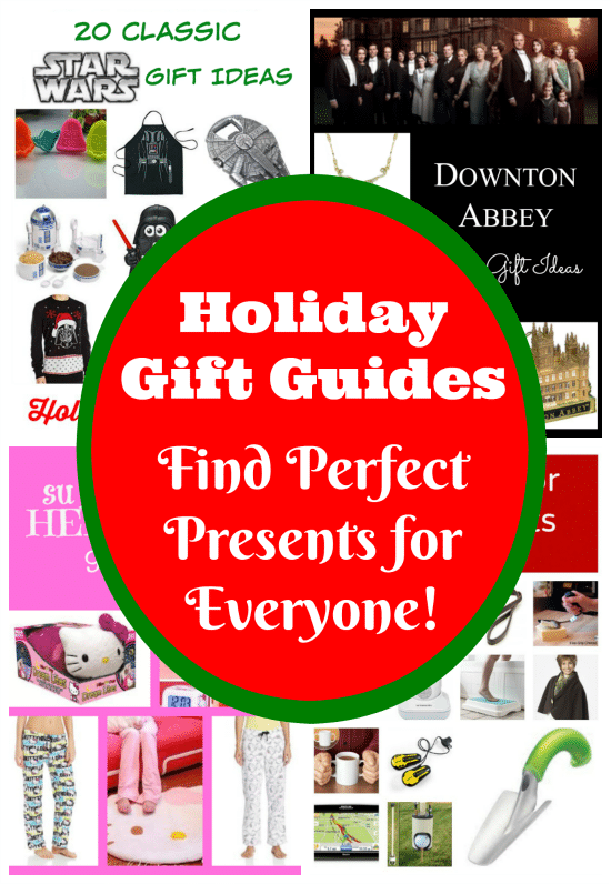 Holiday Gift Guides - Find Perfect Presents for Everyone!
