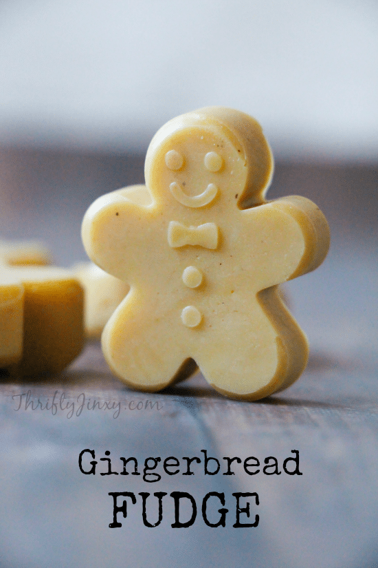 Homemade Gingerbread Fudge Recipe