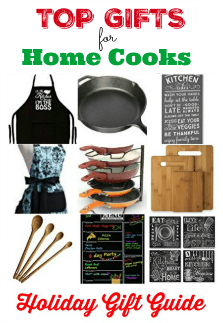 Find the perfect present for the chef on your shopping list with these Top Gifts for Home Cooks!
