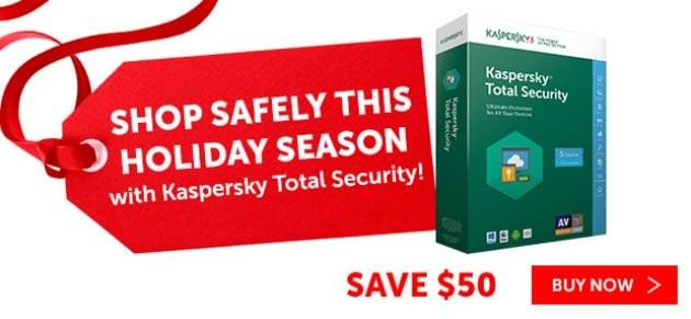 Let Kaspersky Online Security Keep Your Family Safe savings