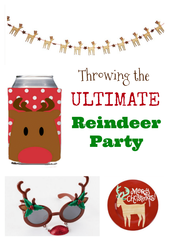 Throwing The Ultimate Reindeer Party and Gift Guide - Fun and festive options to get excited for a visit from Santa and his reindeer!