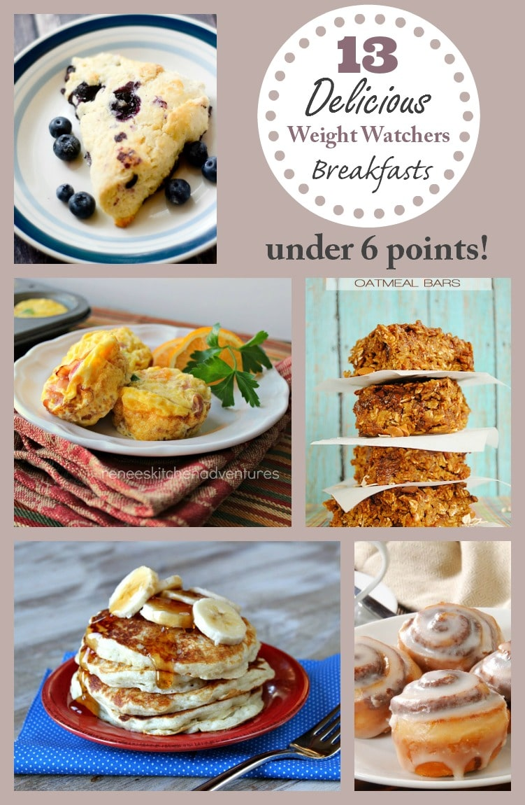 13 Delicious Weight Watchers Breakfast Recipes - All Under 6 Points!