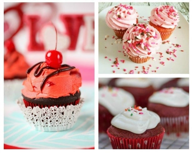17 Pretty And Delicious Valentine Cupcake Recipes Thrifty