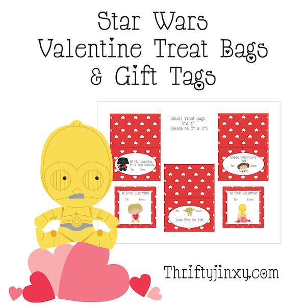 Star Wars Printable Treat Bag Toppers and Gift Tags