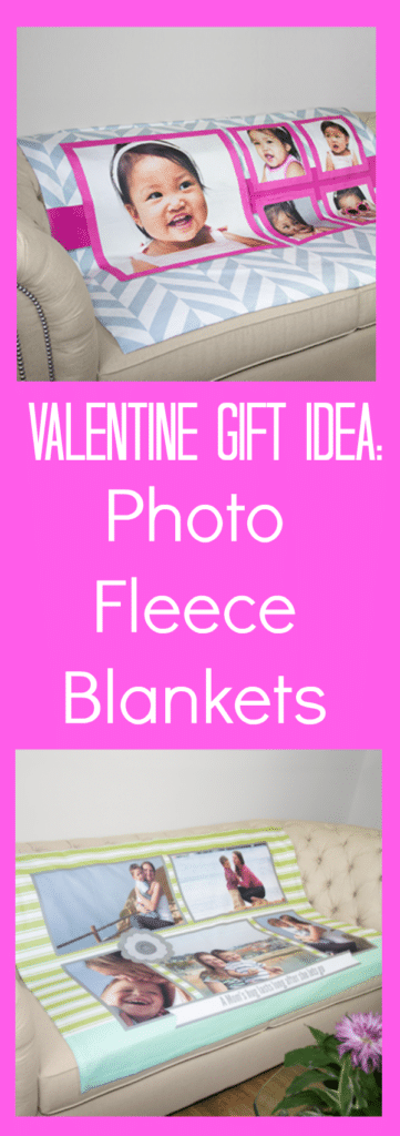 Valentine Gift Idea - Photo Fleece Blankets