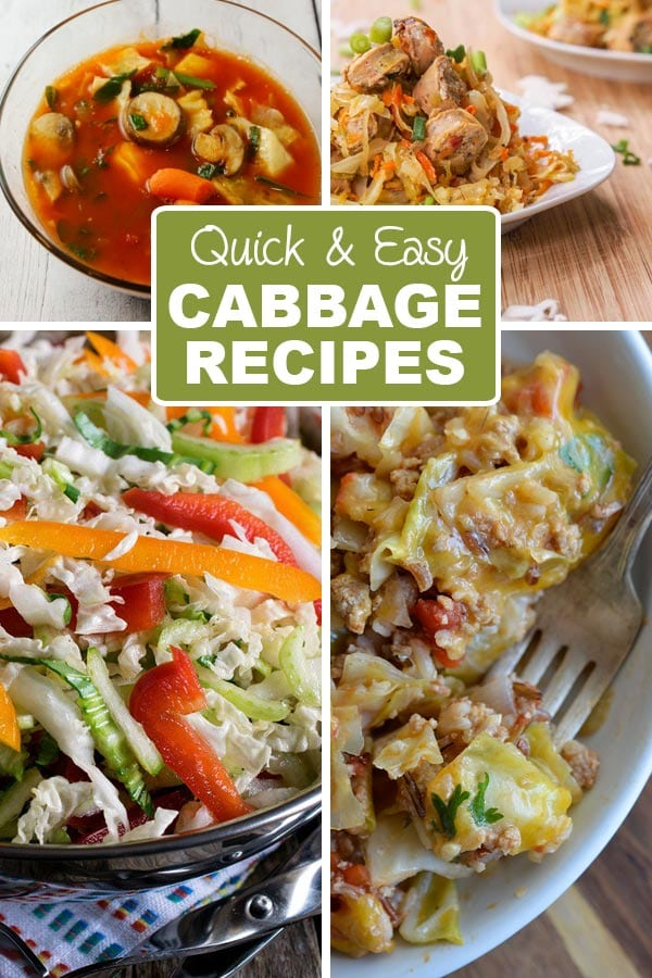 11 Quick and Easy Cabbage Recipes