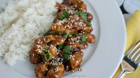 Easy Pressure Cooker Recipes: Honey Sesame Chicken