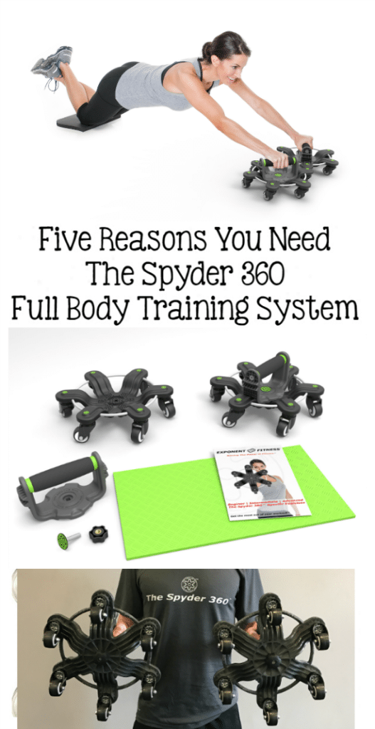 Are you looking for an affordable way to work out in your home? Here are Five Reasons You Need The Spyder 360 Full Body Training System #ad