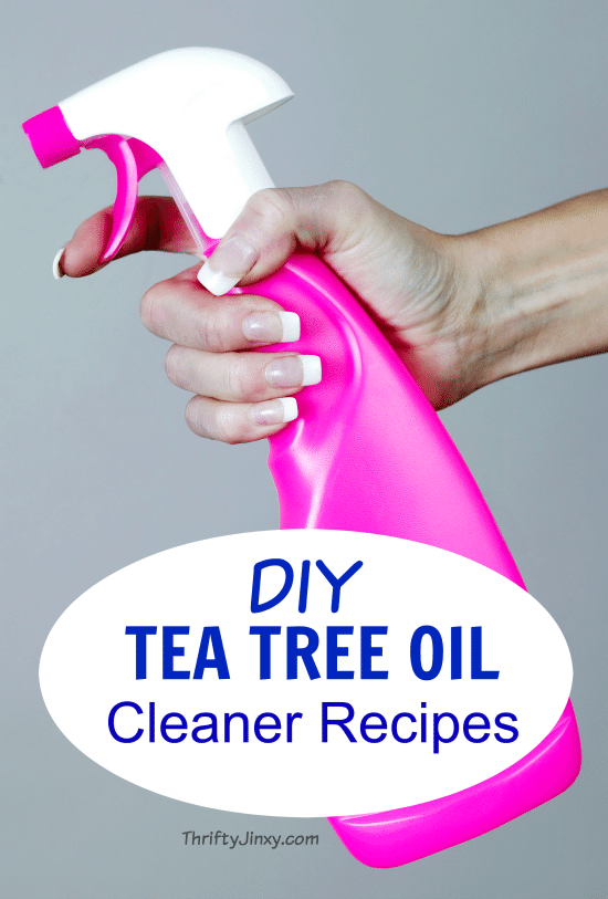 DIY Tea Tree Oil Cleaner Recipes - Make your own natural cleaners that kill 99.9% of household germs without harmful chemicals.