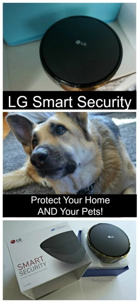LG Smart Security: Protect Your Home AND Your Pets!