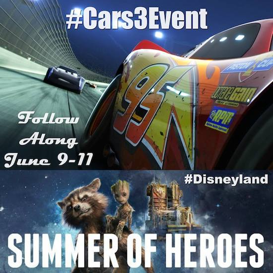 Disneyland Cars 3 Red Carpet Premiere