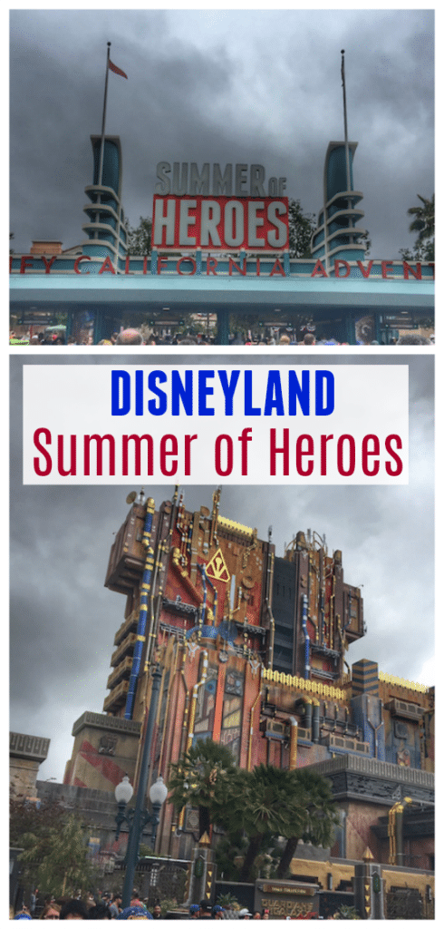 This summer it's time to Hero Up at Disneyland Resort and be a part of the celebration of all of your favorite heroes! From the brand new ride Guardians of the Galaxy – Mission: BREAKOUT! to specialty hero-themed foods, there is lots to discover!