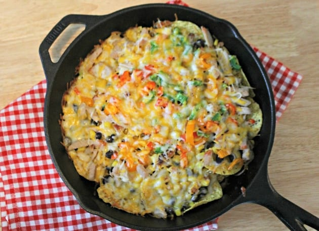 Loaded Grilled Pork Nachos 3