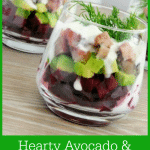 Hearty Avocado & Turkey Salad With Greek Dressing