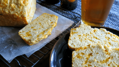 Super Easy Cheddar Beer Bread Recipe