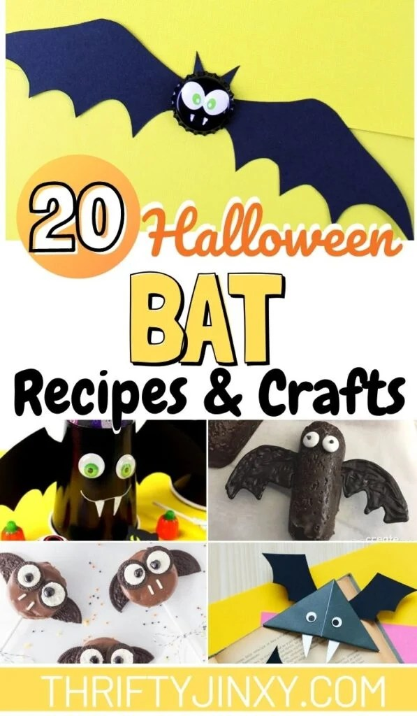 Bat Recipes and Crafts