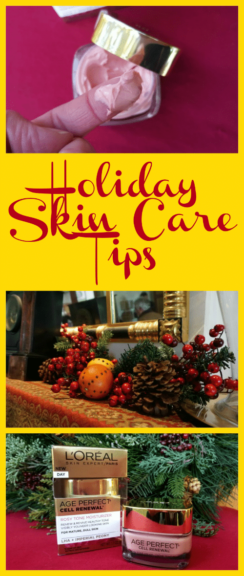 Winter can be rough on your skin! Look your best this season with these Easy Tips for Holiday Skincare! #ad #ThePerfectAge #VN