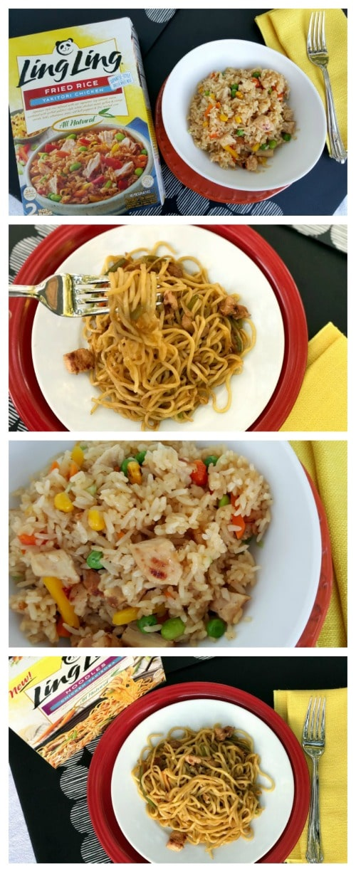 See how you can enjoy Japanese food at home with Ling Ling Fried Rice and Noodles available at Walmart! #ad #LingLingAsianEntrees