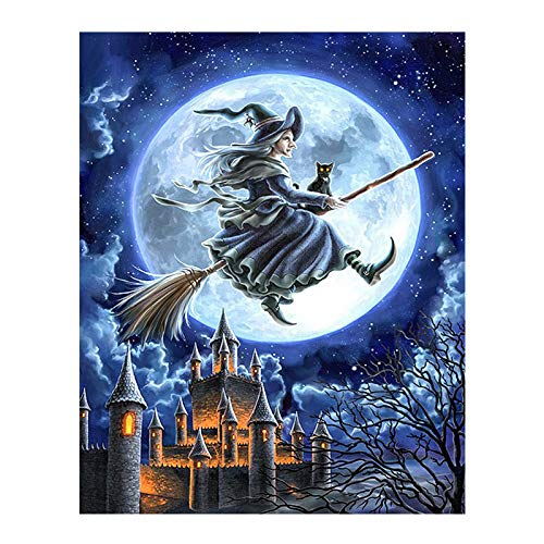 witch cross stitch kit