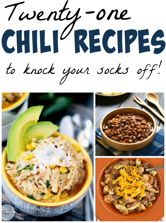 21 Chili Recipes