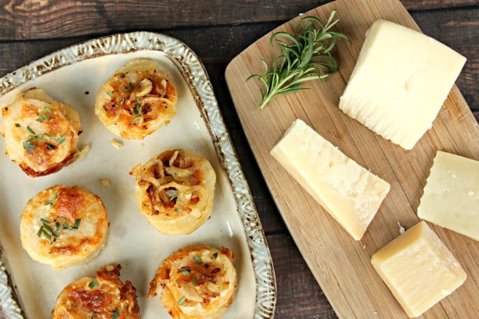 Cheesy Potato And Herb Gratin Stacks 14