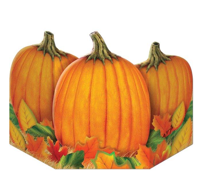 Stand Up Pumpkin Centerpiece