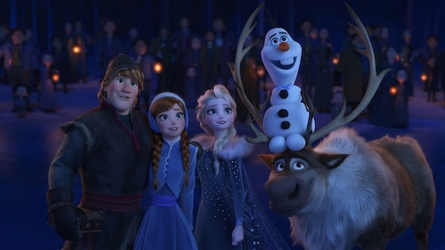 "OLAF'S FROZEN ADVENTURE - ""Olaf's Frozen Adventure"" makes its broadcast television debut as part of Disney