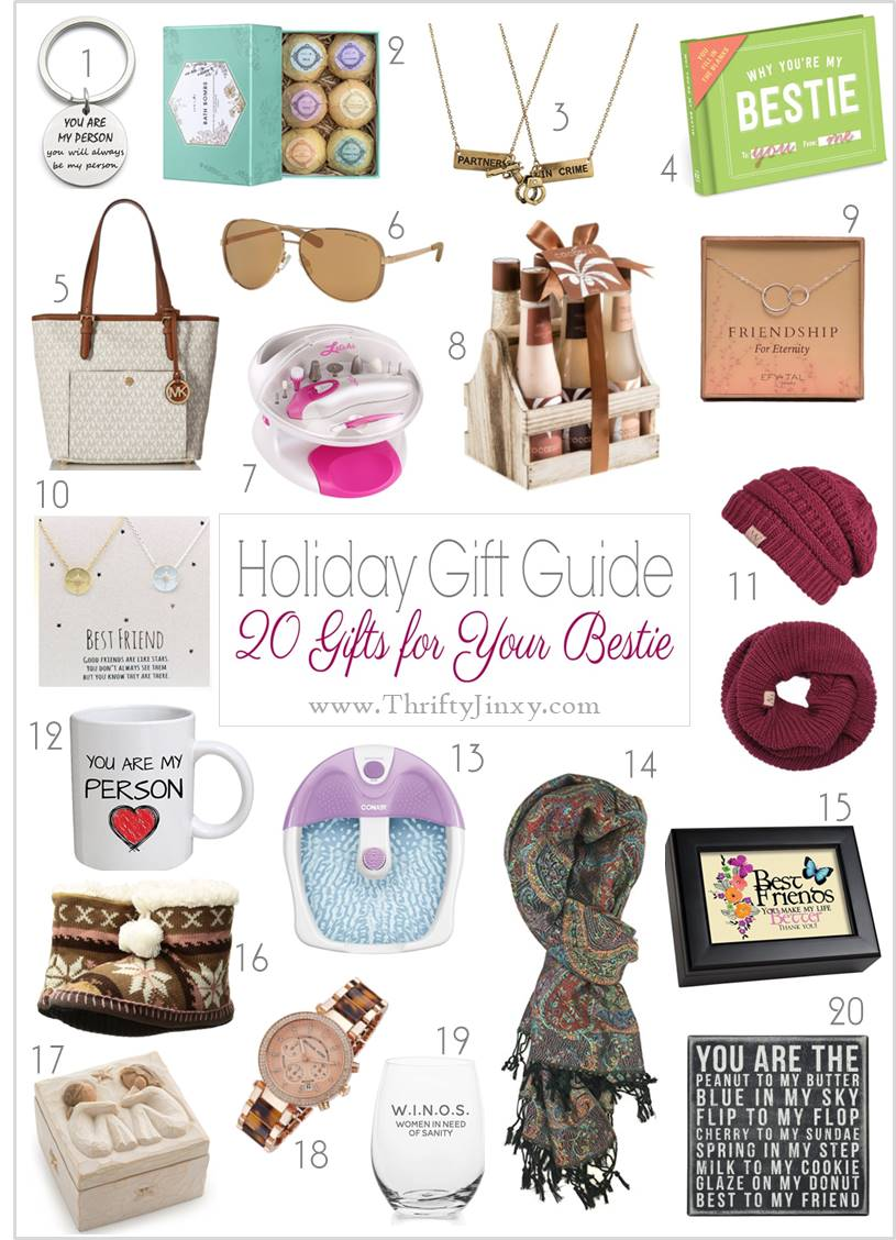 Best Friend Gift Ideas - Pick a Present Your BFF Will Love!