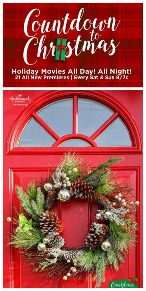 Hallmark Channel Countdown to Christmas Movie List Schedule