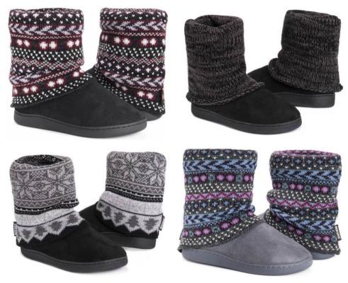 muk luk slipper boots