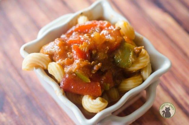 Pressure Cooker Ground Beef Goulash Recipe - Italian Style