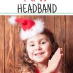 DIY Santa Hat Headband