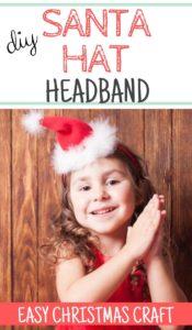 DIY Santa Hat Headband