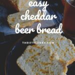 easy cheddar beer bread